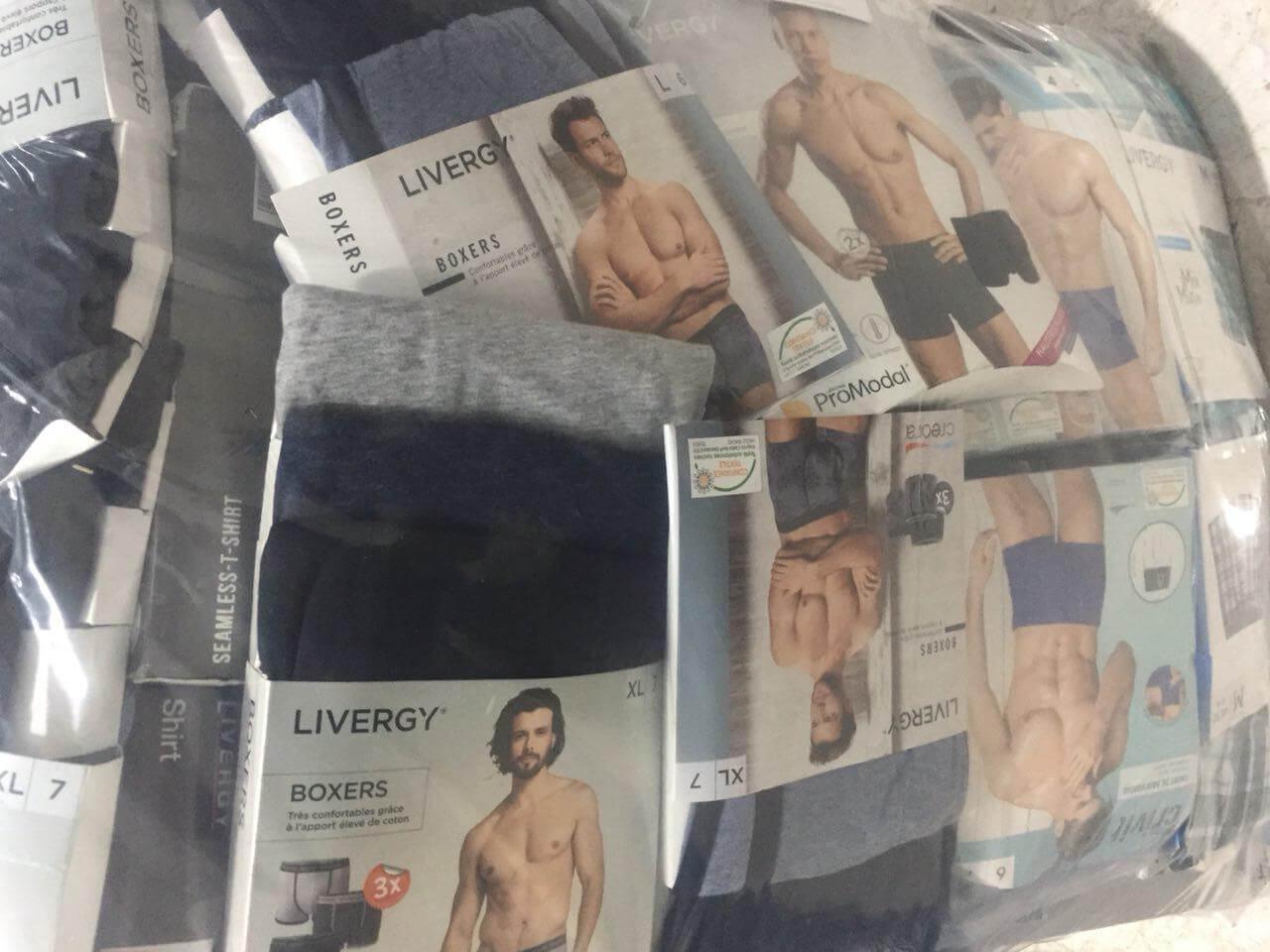 لباس زیر لیورجی مردانه LIVERGY