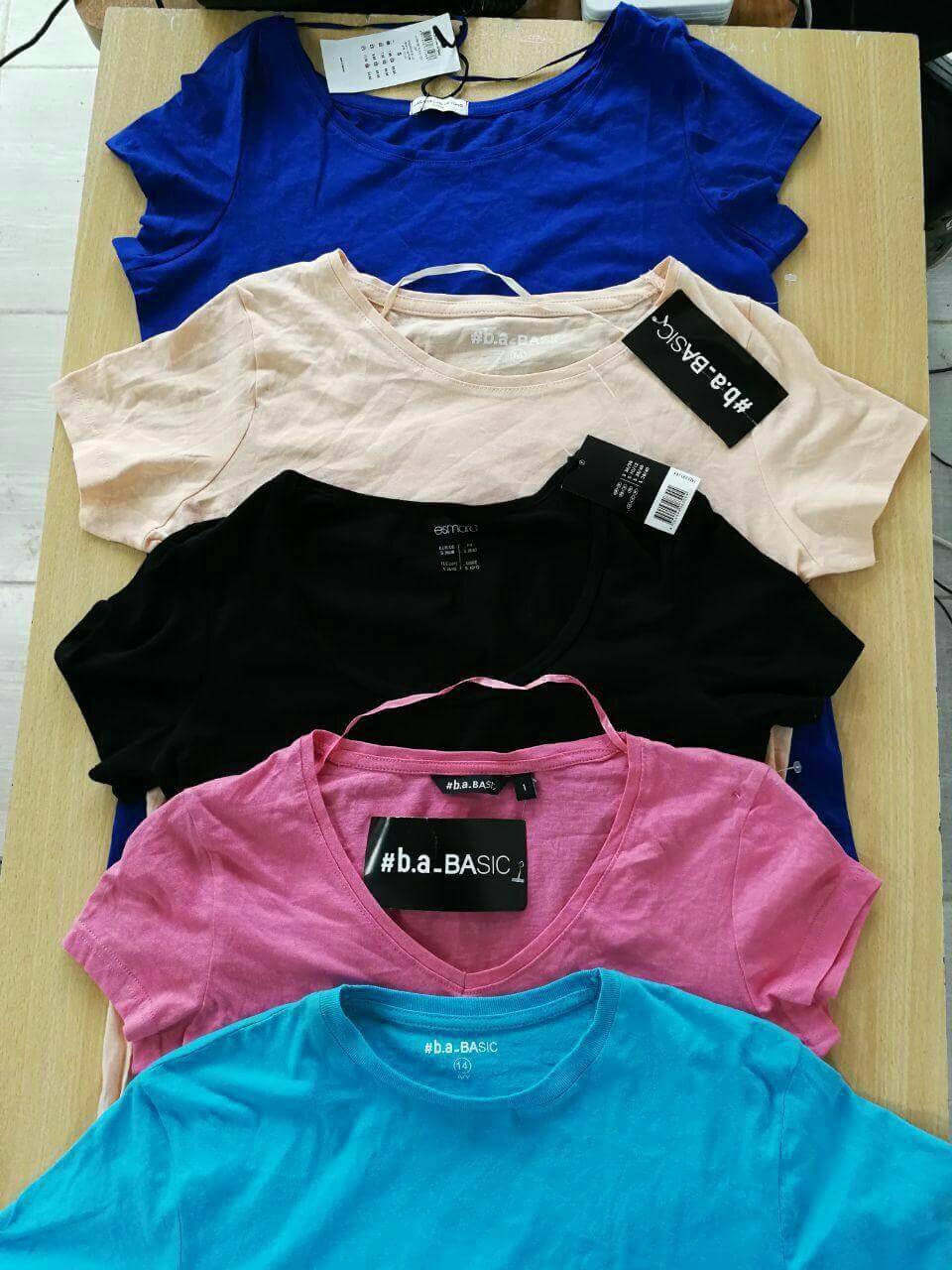 تی شرت زنانه ساده برند JACQUELINE
